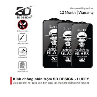 Kính Cường Lực Chống Nhìn Trộm iPhone SD DESIGN Luffy 6 6splus 7 7plus 8 8plus x xr xs max 11 pro 11 promax 12 12 promax thumbnail