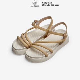 Giày sandal nữ giayBOM quai dây đế bằng cao 4 cm B1157 thumbnail