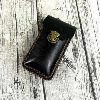 Túi đeo hông, thắt lưng đựng điện thoại da thật handmade – ZC103