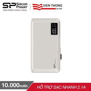 Pin sạc dự phòng Silicon Power S103 10.000mAh đèn LED hiển thị (Trắng) -
