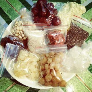 Chè dưỡng nhan - các nguyên liệu tự chọn dành cho ai nấu ít chỉ 10g