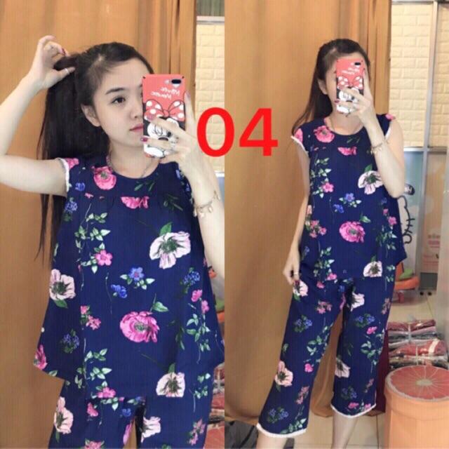 Bộ mặc ở nhà nữ,bộ quần lửng lanh Hàn - 3395276 , 1078076144 , 322_1078076144 , 155000 , Bo-mac-o-nha-nubo-quan-lung-lanh-Han-322_1078076144 , shopee.vn , Bộ mặc ở nhà nữ,bộ quần lửng lanh Hàn
