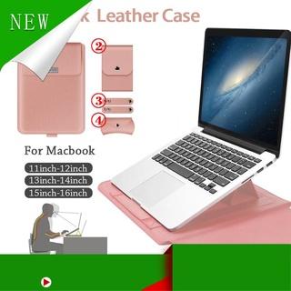 [Hàng Cao Cấp ] Túi da PU đựng máy tính xách tay thích hợp cho dòng Macbook Air Pro Macbook Air 11 12 13.3 15.4 inch thumbnail