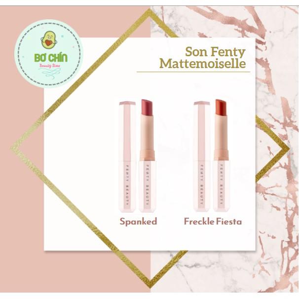 Son Fenty Mattemoiselle Plush Matte Lipstick các màu