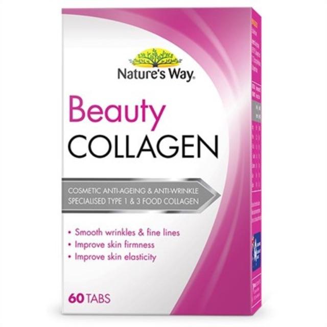 Viên Uống Collagen Natures Way 60 viên