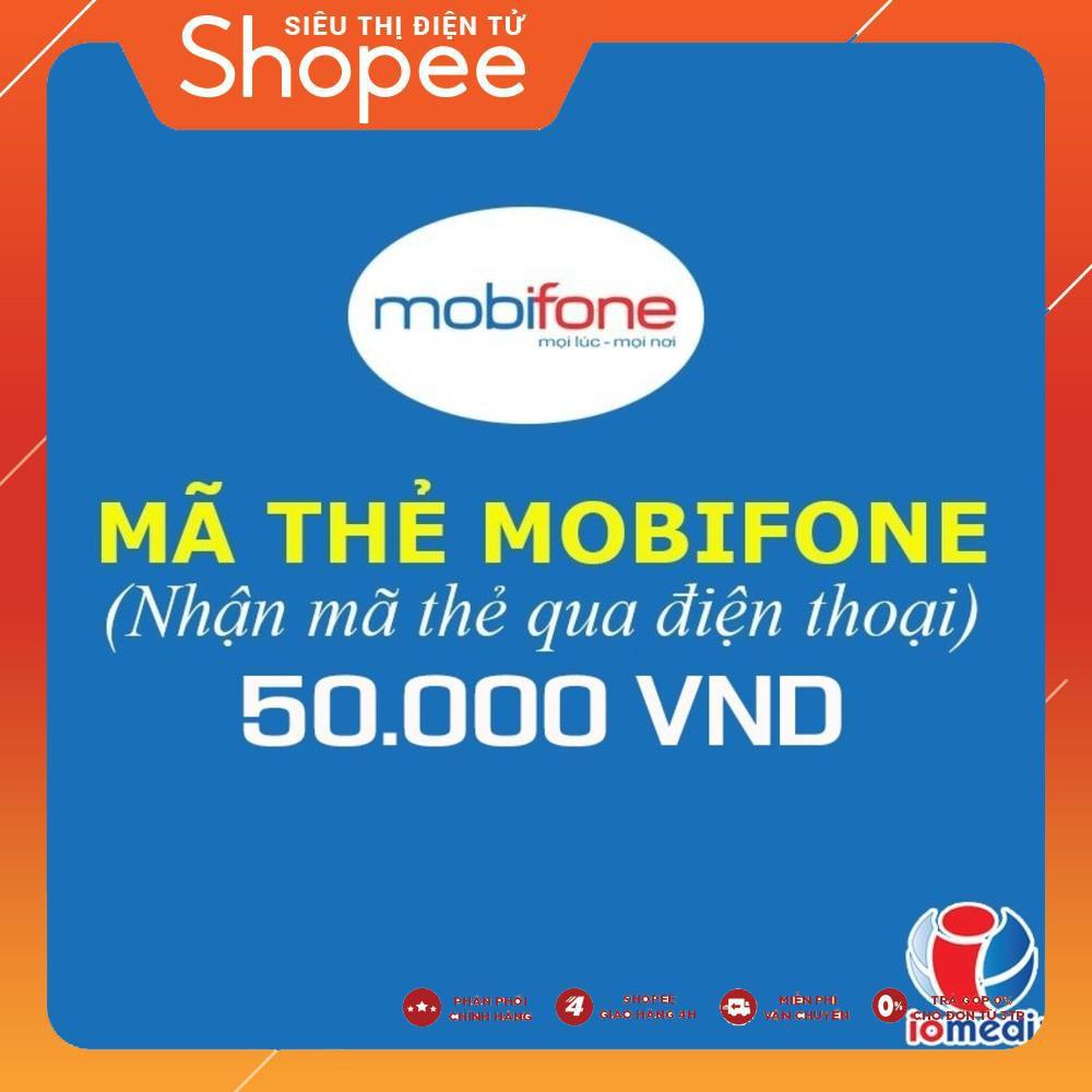 Mua Mã thẻ Mobifone 5