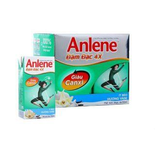 Thùng 48 hộp sữa nước Anlene đậm đặc 4x