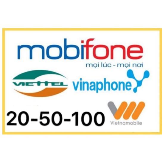 Card điện thoại Mobifone, Vinaphone, Viettel, Vietnammobile - 2751074 , 1048265005 , 322_1048265005 , 20000 , Card-dien-thoai-Mobifone-Vinaphone-Viettel-Vietnammobile-322_1048265005 , shopee.vn , Card điện thoại Mobifone, Vinaphone, Viettel, Vietnammobile