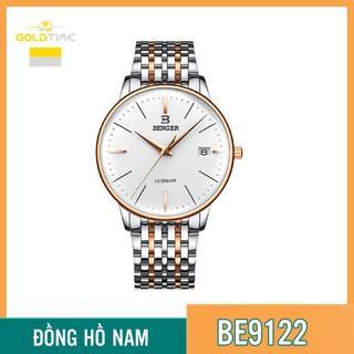 Đồng Hồ Nam BENGER BE9122 Dây Thép Không Gỉ - Hiển Thị Lịch Cao Cấp