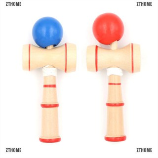ZTHOME Kid Kendama Ball Japanese Traditional Wood Game Balance Skill Educational Toy
