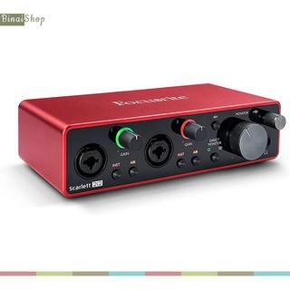 [Mã ELMS3TR giảm 7% đơn 2TR] Sound card thu âm Focusrite Scarlett 2i2 Gen 3