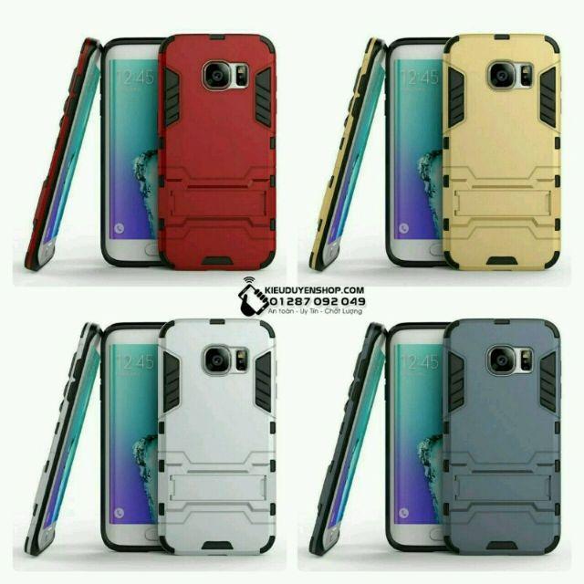 Ốp lưng Samsung Galaxy S7 Edge chống sốc Iron Man