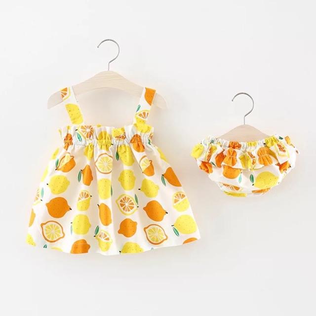 Bộ áo quần cho bé gái