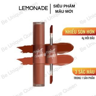 Son 2 đầu Lemonade Perfect Couple Lip Fashionistar 8g Mẫu Mới thumbnail