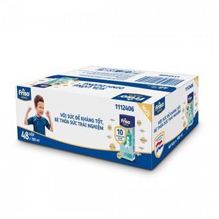 Thùng 48 Hộp Sữa Bột Pha Sẵn Friso Gold Vani (48 X 180ml) thumbnail
