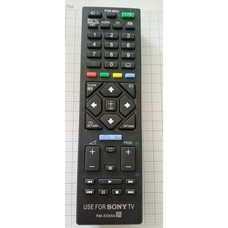 remote tivi SONY RML ED 054, điều khiển tivi sony.