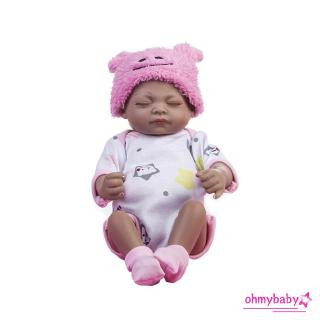 【OMB】Simulation Reborn Baby Doll Realistic Girl Soft Gloves Kids Toys BM0082