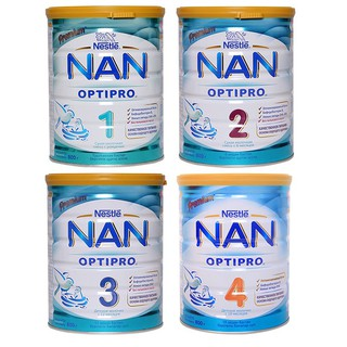 Sữa Nan Nga số 1 số 2 số 3 số 4 hộp 800G (date mới 2021) mẫu mới thumbnail