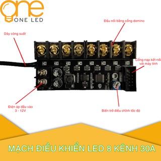 Mạch vẫy OneLED 8 kênh 30A V3.2