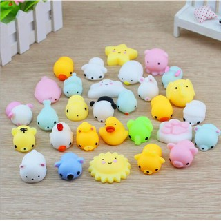 cute little animal decompression toy squishy decompression vent squeezing