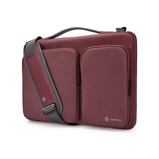 TÚI XÁCH TOMTOC (USA) TRAVEL BRIEFCASE FOR ULTRABOOK 15 RED thumbnail