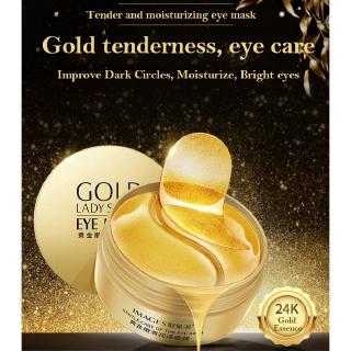 Hình ảnh [Mã COSCCB26 hoàn 8% xu đơn 250K] Hộp 60 miếng mặt nạ mắt từ collagen dưỡng ẩm chống nếp nhăn và thâm quầng-3
