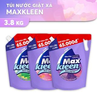 """[Mã HCMK09 giảm 8% đơn 199k] Túi Nước Giặt Xả Maxkleen 3.8kg (MỚI) giá chỉ còn <strong class=""""price"""">15.000.000.000đ</strong>"""