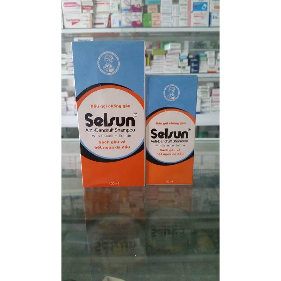 Dầu gội trị gàu Selsun shampoo