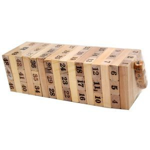 [Nhập TOYAPR10K giảm ngay 10K]đồ chơi rút gỗ 48 miếng nặng 1kg | TẠI BA ĐÌNH