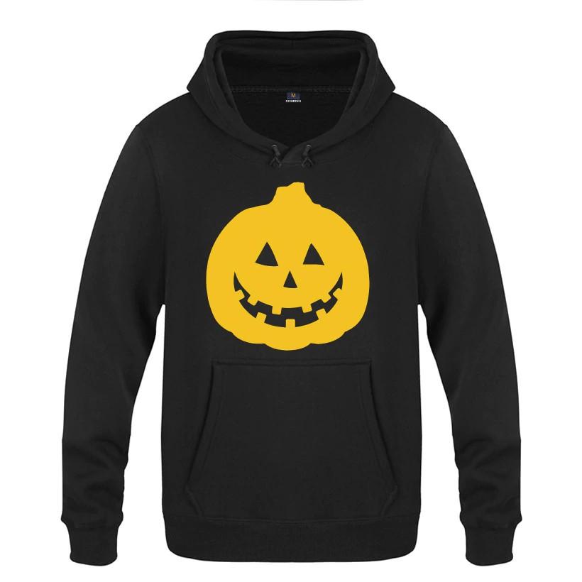 Áo Hoodie Nam In Hình Bí Ngô Halloween