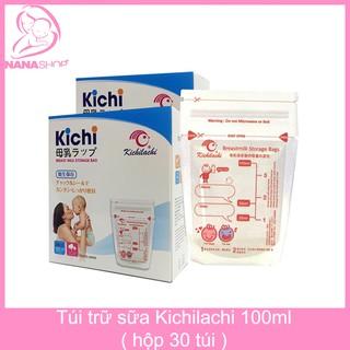 [Mã MKBCS24 giảm 10K đơn 99K] Túi trữ sữa Kichilachi hộp 30 túi 100ml