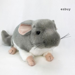 【ezbuy】 Realistic Chinchilla Mouse Animal Plush Stuffed Doll Kids Toy Home Desktop Decor