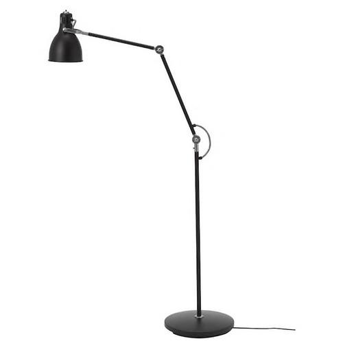 Đèn sàn đen ARÖD IKEA