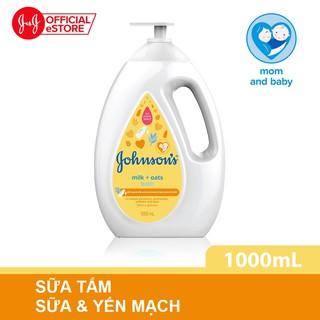 Sữa tắm Johnson's chứa sữa và yến mạch 1000ml - 100977932