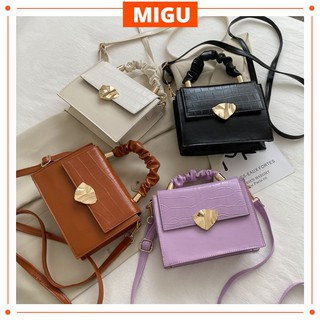 Túi Nữ Đẹp Túi xách đeo chéo hình vuông xinh xắn dành cho nữ MIGU.VN