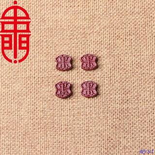 chuỗi hạt đá màu tím tự nhiên làm trang sức