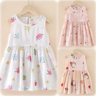 (Nowship HCM Q2) (xuân hè 2021) Đầm váy hoa xinh bé gái dễ thương Kate Combo 2 dành cho công chúa nhí vintage thích elsa