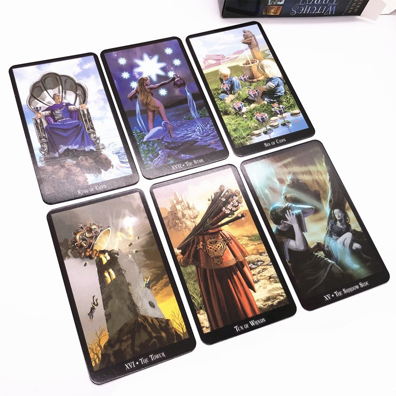 Rider Waite Tarot Deck 78 Cards Witches Fortune Future Telling Sealed Table Game | slimevuitinh