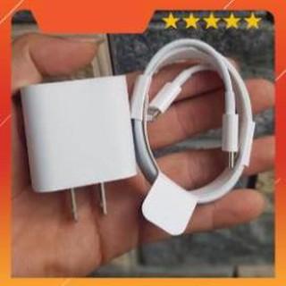 Bộ sạc nhanh USB-C 18W cho iPhone 6/7/8//x/XS Max/IPhone 11/iPad hàng zin Fullbox