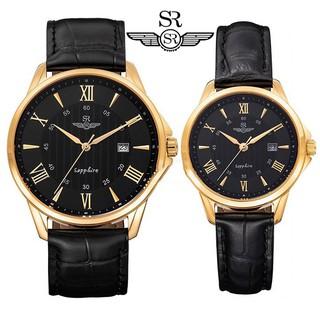 Đồng hồ nam nữ SRWATCH SG3003.4601CV và SL3003.4601CV mặt đen kính Sapphire Crystal ,mặt tròn, sang trọng, lịch lãm thumbnail