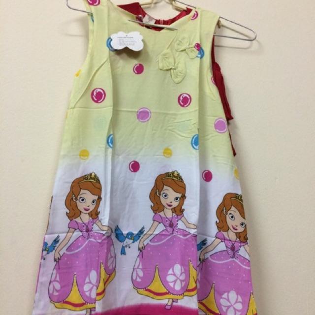 Váy lanh thái size 10-15 tuổi