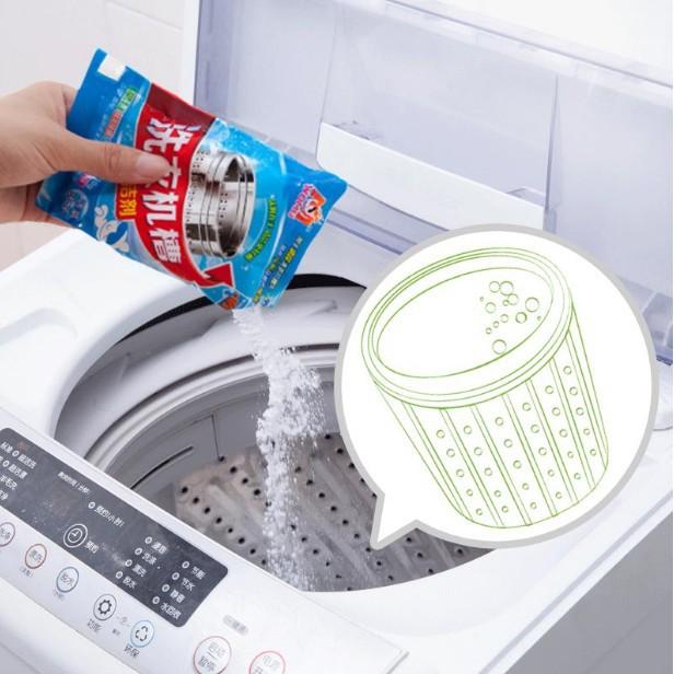 Bột tẩy lồng giặt/ Gói vệ sinh lồng giặt