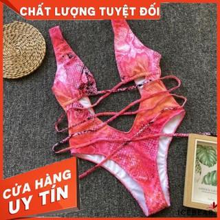 Bộ đồ bơi 1 mảnh hỗ trợ nâng ngực dây đan chéo quyến rũ – Hàng nhập khẩu
