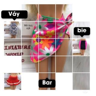 Chân váy búp bê barbie. Mã váy A