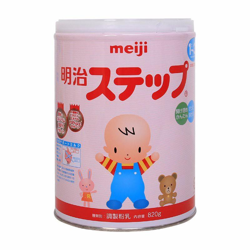 sữa meiji nội địa 1-3 820g