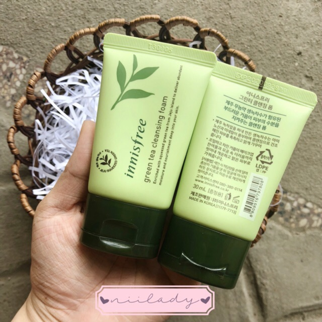 Sữa rửa mặt Green Tea Cleansing Foam - 2462243 , 31660869 , 322_31660869 , 45000 , Sua-rua-mat-Green-Tea-Cleansing-Foam-322_31660869 , shopee.vn , Sữa rửa mặt Green Tea Cleansing Foam