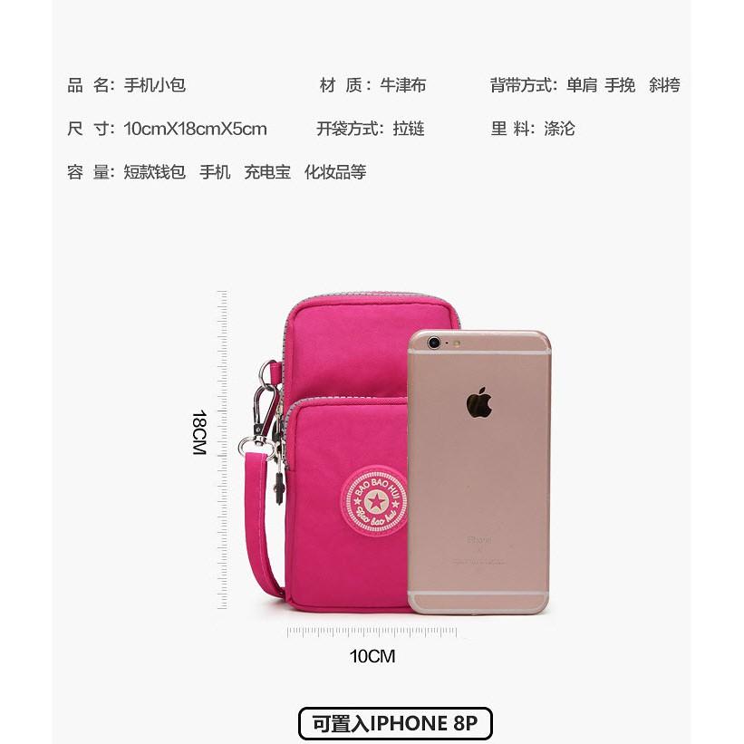 [HCM] Túi đeo chéo đựng điện thoại và sạc dự trữ thời trang cho nữ / NHIỀU mẫu MỚI