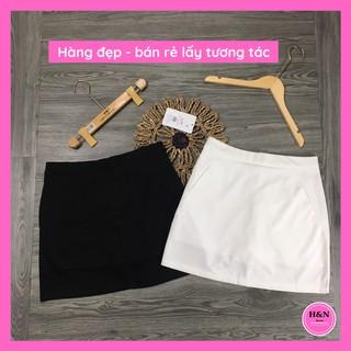 Chân váy chữ A trơn thiết kế lưng cao phong cách trẻ trung xinh xắn H&N Clothing CV1 thumbnail