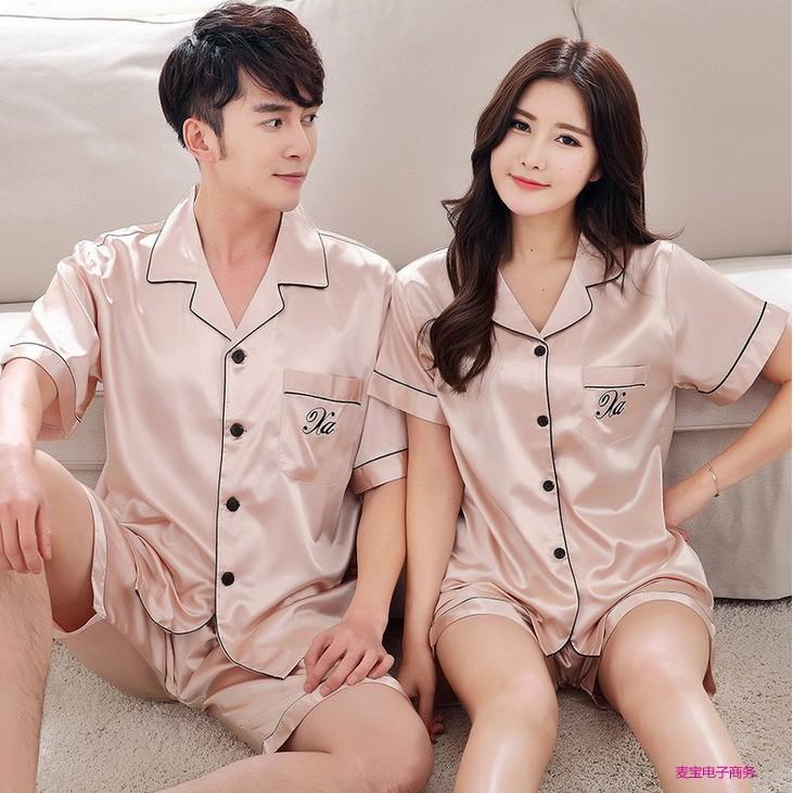 Bộ đồ pijama nam nữ ngắn cao cấp