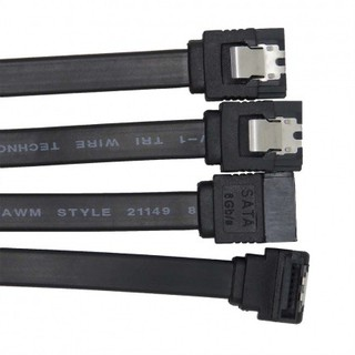 Cáp SATA III 6Gb/s 46cm Cable Chính hãng 100% zin theo mainboard (túi 1 sợi)